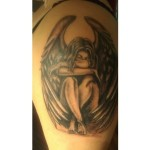 Fallen Angel Tattoo design10 150x150 - 100's of Fallen Angel Tattoo Design Ideas Pictures Gallery