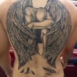 Fallen Angel Tattoo design5 150x150 - 100's of Fallen Angel Tattoo Design Ideas Pictures Gallery