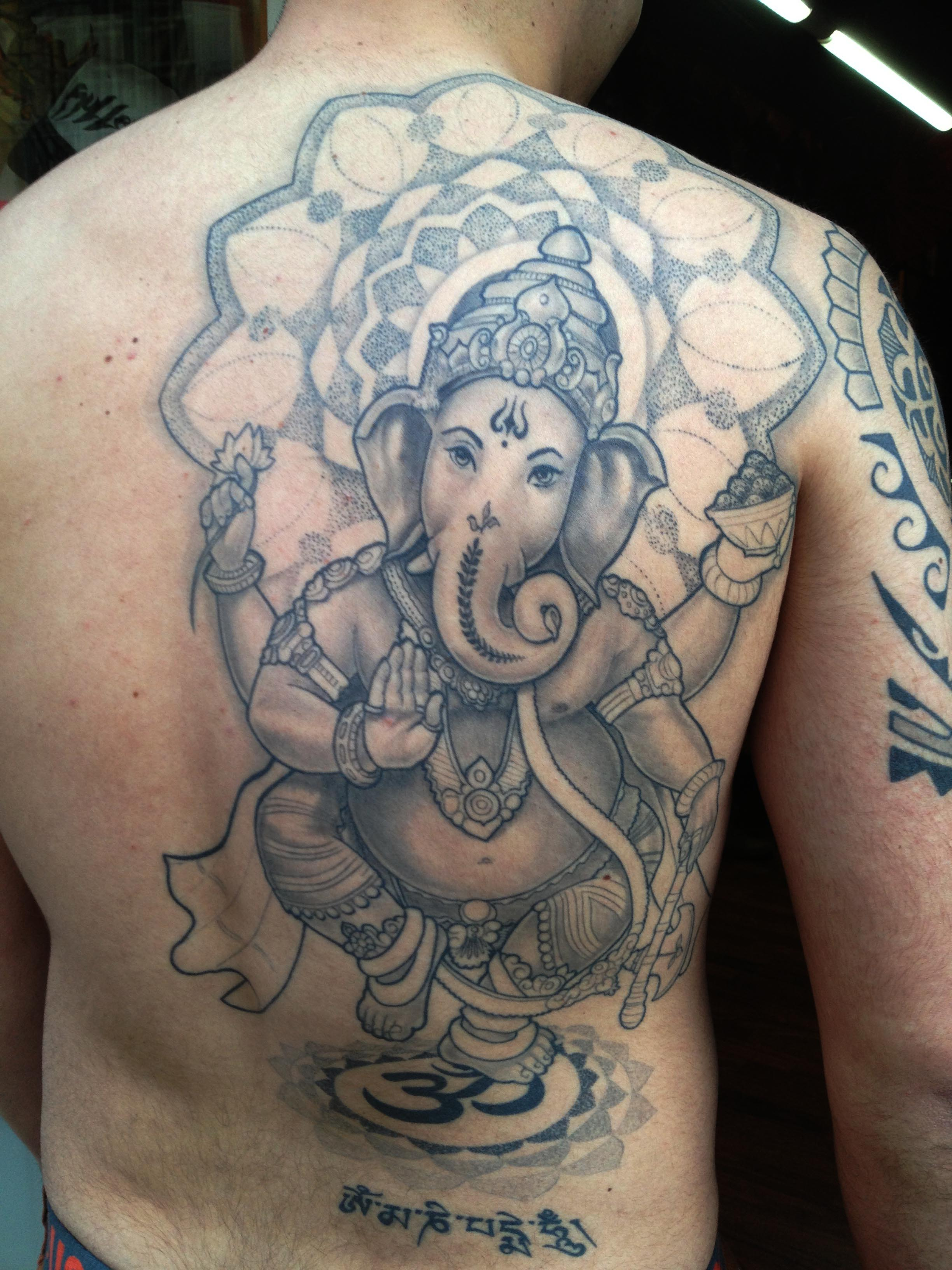 100 39 s of ganesh tattoo design ideas pictures gallery