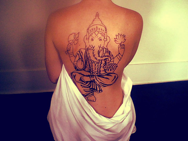 ganesha name hd tatt