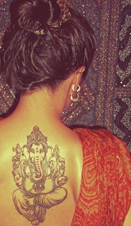 Ganesh Tattoo Design Ideas Pictures Gallery