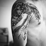 Girl Angel Tattoo10 150x150 - 100's of Girl Angel Tattoo Design Ideas Pictures Gallery