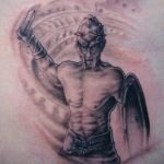 Gladiator 11 150x150 - 100's of Gladiator Tattoo Design Ideas Pictures Gallery