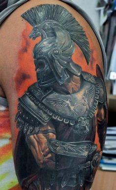 Gladiator Tattoo Design Ideas Pictures Gallery
