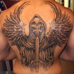 Grim Reaper 3 150x150 - 100's of Grim Reaper Tattoo Design Ideas Pictures Gallery