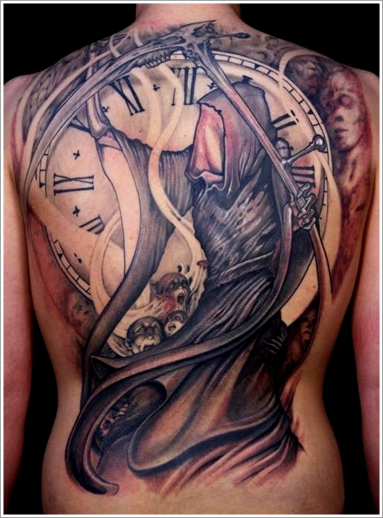 Grim Reaper Tattoo Design Ideas Pictures Gallery