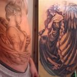 Guardian Angel Tattoo11 150x150 - 100's of Guardian Angel Tattoo Design Ideas Pictures Gallery