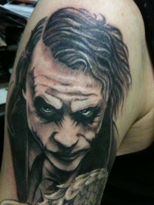 100's of Joker Tattoo Design Ideas Pictures Gallery