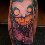 Joker 21 150x150 - 100's of Joker Tattoo Design Ideas Pictures Gallery