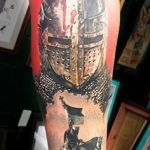 Knight 12 150x150 - 100's of Knight Tattoo Design Ideas Pictures Gallery