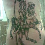 Knight 9 150x150 - 100's of Knight Tattoo Design Ideas Pictures Gallery