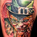 100's of Leprechaun Tattoo Design Ideas Pictures Gallery