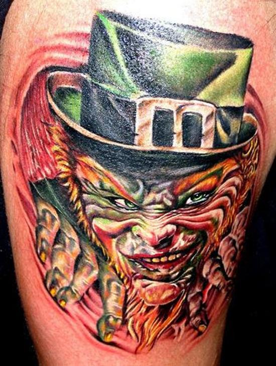 100's of Leprechaun Tattoo Design Ideas Pictures Gallery
