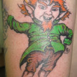 Leprechaun 10 150x150 - 100's of Leprechaun Tattoo Design Ideas Pictures Gallery