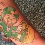Leprechaun 11 150x150 - 100's of Leprechaun Tattoo Design Ideas Pictures Gallery