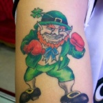 Leprechaun 7 150x150 - 100's of Leprechaun Tattoo Design Ideas Pictures Gallery