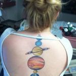 Planet Tattoo Design12 150x150 - 100's of Planet Tattoo Design Ideas Pictures Gallery
