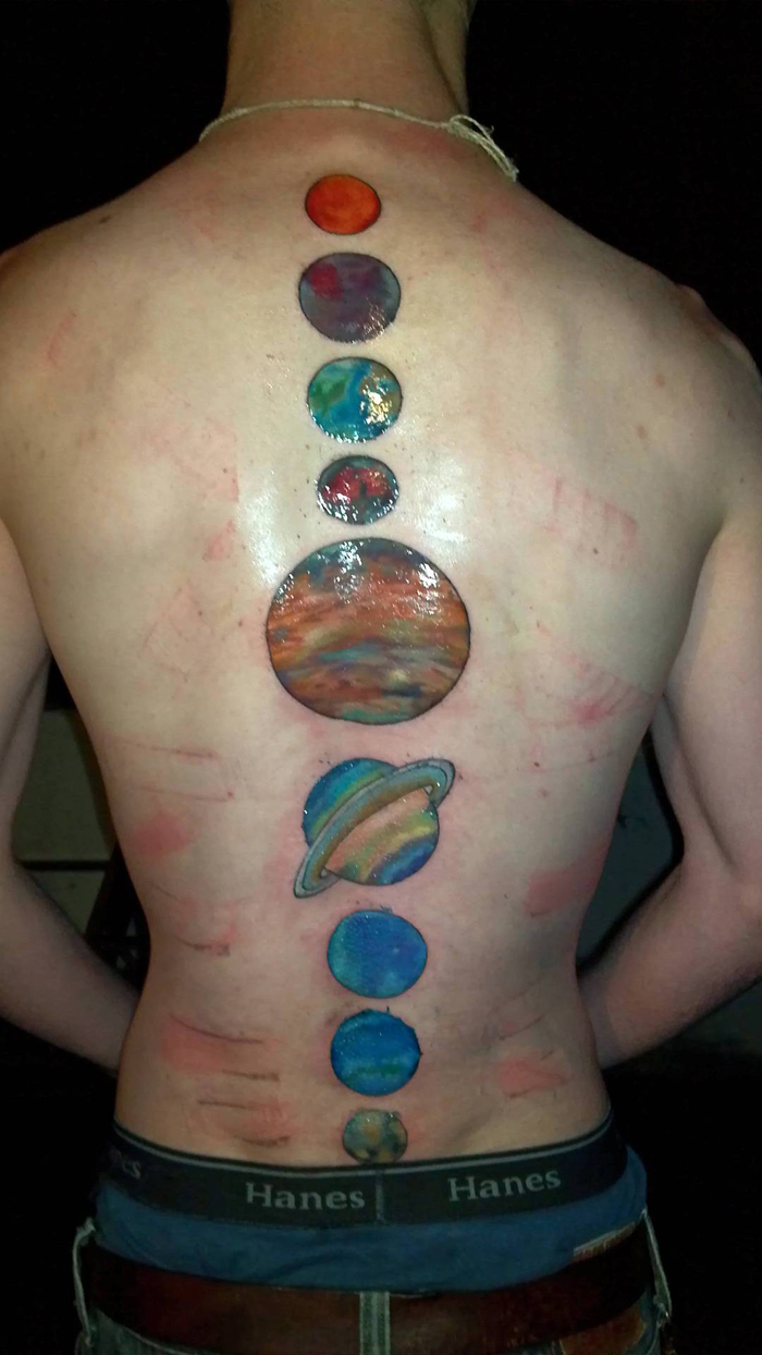 100 S Of Planet Tattoo Design Ideas Pictures Gallery