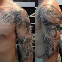 100's of Poseidon Tattoo Design Ideas Pictures Gallery