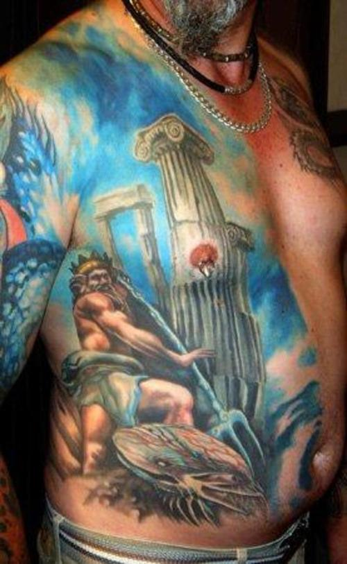 100 S Of Poseidon Tattoo Design Ideas Pictures Gallery