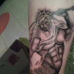 Poseidon 9 150x150 - 100's of Poseidon Tattoo Design Ideas Pictures Gallery