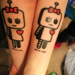 Robot 12 150x150 - 100's of Robot Tattoo Design Ideas Pictures Gallery