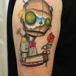 Robot 3 150x150 - 100's of Robot Tattoo Design Ideas Pictures Gallery