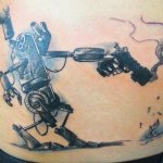 Robot 5 150x150 - 100's of Robot Tattoo Design Ideas Pictures Gallery