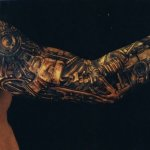 Robot 7 150x150 - 100's of Robot Tattoo Design Ideas Pictures Gallery
