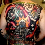 Robot 8 150x150 - 100's of Robot Tattoo Design Ideas Pictures Gallery