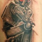 Robot 9 150x150 - 100's of Robot Tattoo Design Ideas Pictures Gallery