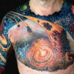 Space Tattoo Design Ideas Pictures Gallery