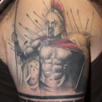 Spartan 5 150x150 - 100's of Spartan Tattoo Design Ideas Pictures Gallery