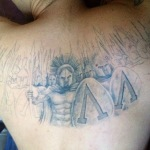Spartan 6 150x150 - 100's of Spartan Tattoo Design Ideas Pictures Gallery