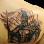 Spartan 7 150x150 - 100's of Spartan Tattoo Design Ideas Pictures Gallery