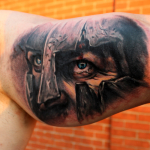 Spartan 8 150x150 - 100's of Spartan Tattoo Design Ideas Pictures Gallery