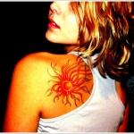 Sun Tattoo Design10 150x150 - 100's of Sun Tattoo Design Ideas Pictures Gallery