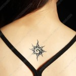 Sun Tattoo Design Ideas Pictures Gallery