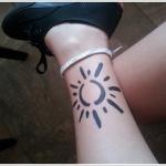 Sun Tattoo Design3 150x150 - 100's of Sun Tattoo Design Ideas Pictures Gallery