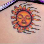 Sun Tattoo Design6 150x150 - 100's of Sun Tattoo Design Ideas Pictures Gallery