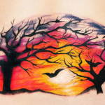 Sunset Tattoo Design10 150x150 - 100's of Sunset Tattoo Design Ideas Pictures Gallery