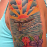 Sunset Tattoo Design3 150x150 - 100's of Sunset Tattoo Design Ideas Pictures Gallery