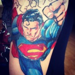 Superman 11 150x150 - 100's of Superman Tattoo Design Ideas Pictures Gallery