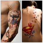 Superman 7 150x150 - 100's of Superman Tattoo Design Ideas Pictures Gallery