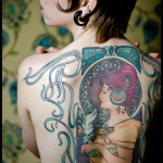 Tattoos of Paintings10 150x150 - 100's of Tattoos of Painting Design Ideas Pictures Gallery