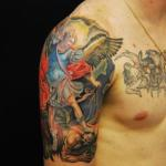 Tattoos of Paintings5 150x150 - 100's of Tattoos of Painting Design Ideas Pictures Gallery