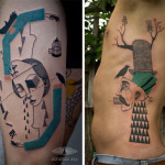 Tattoos of Paintings6 150x150 - 100's of Tattoos of Painting Design Ideas Pictures Gallery
