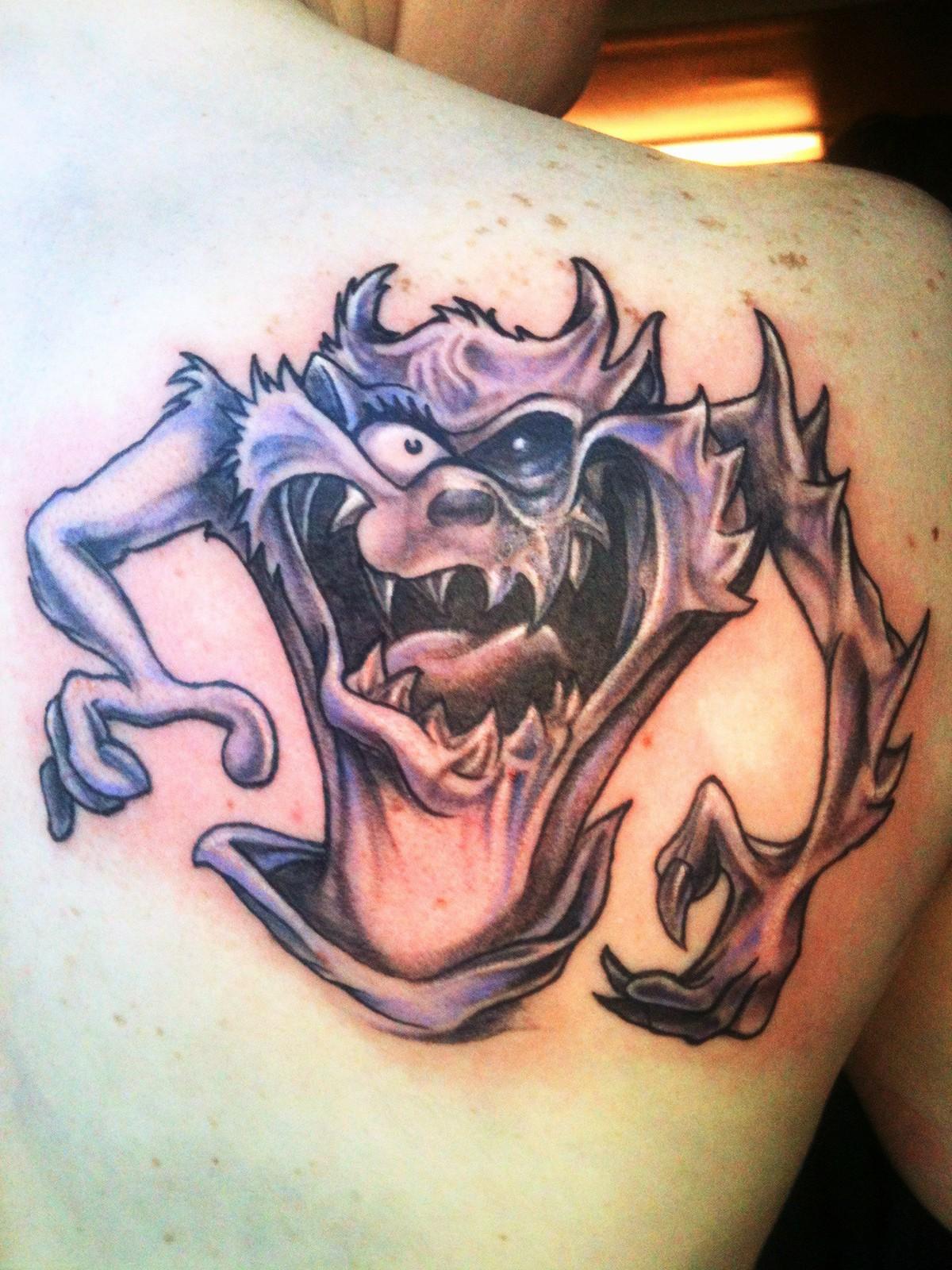 Baby Tazmania Tattoos tatto tazmania taz tattoo