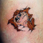 Taz 3 150x150 - 100's of Taz Tattoo Design Ideas Pictures Gallery
