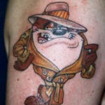 Taz 7 150x150 - 100's of Taz Tattoo Design Ideas Pictures Gallery